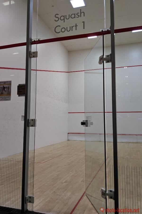 Squash Courts in Squash Club Orlando Florirda USA