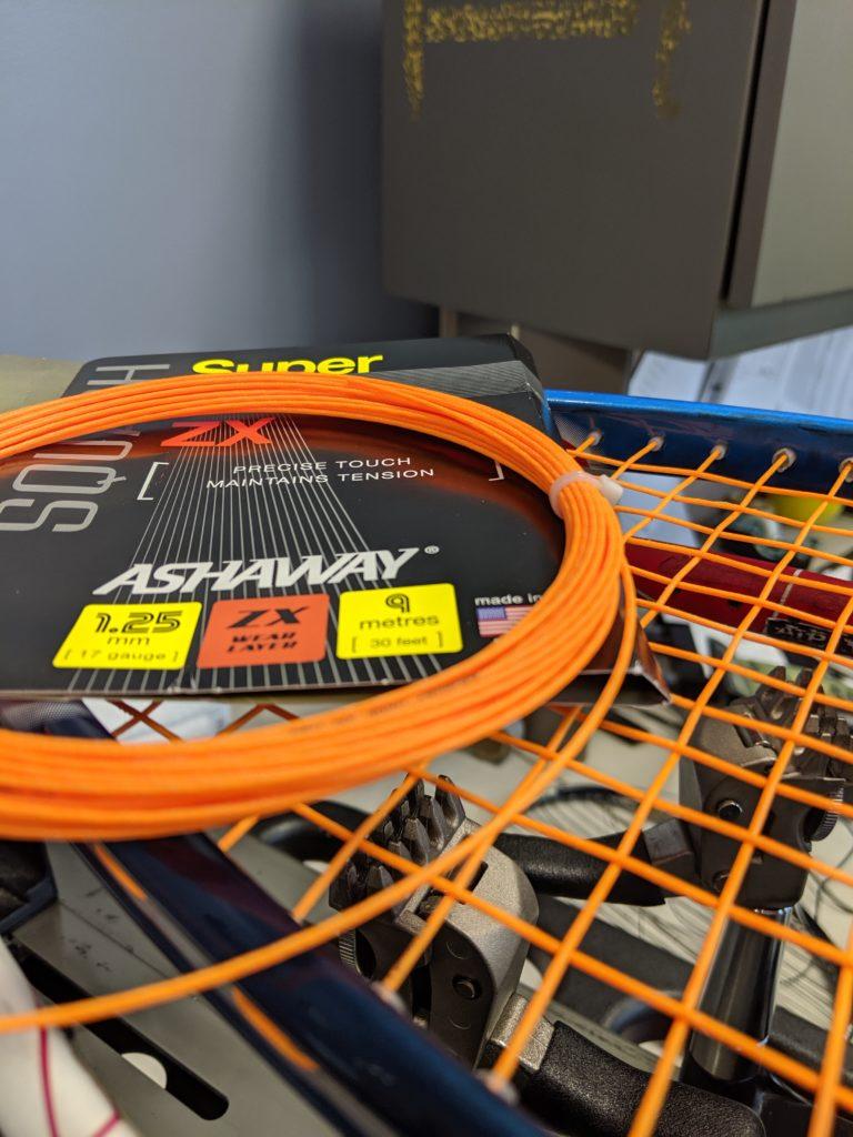 Squash Racquet restring squash orlando
